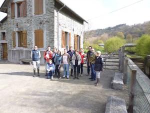 Atelier paysage autour du Moulin Hébert (Vallée de la Vire)