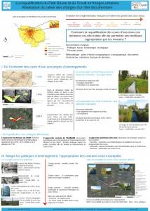 Documentaire sur la restauration de deux cours d'eau franciliens par les étudiants de Nanterre et Paris 8