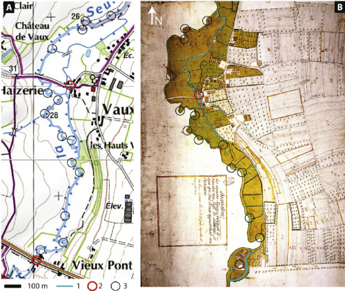 Fig-4-Comparison-of-the-planform-of-the-Seulles-River-along-the-Vaux-sur-Seulles